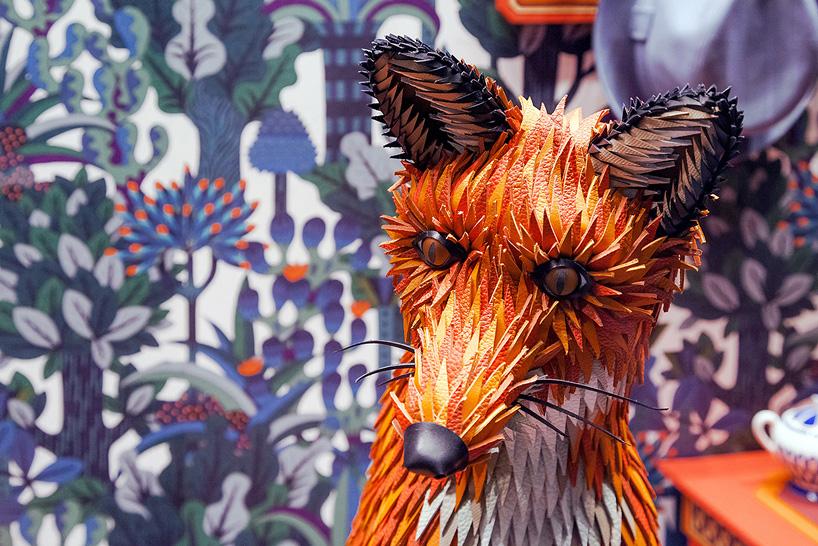 Rókalak kirakat dekor – Rókavilág.hu