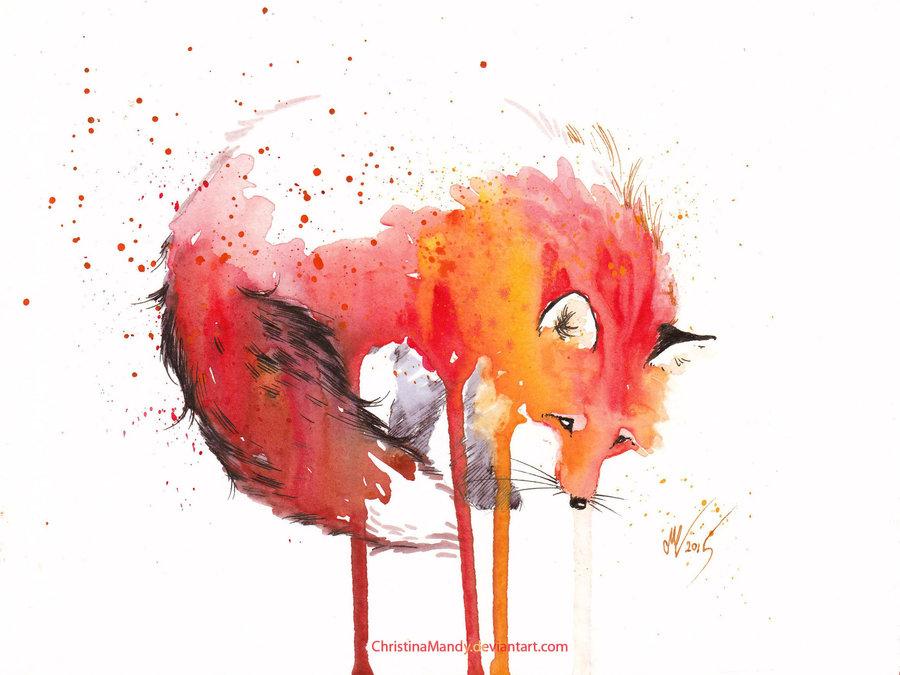 Rókák titkos világ – Illusztráció – Rókavilág.hu