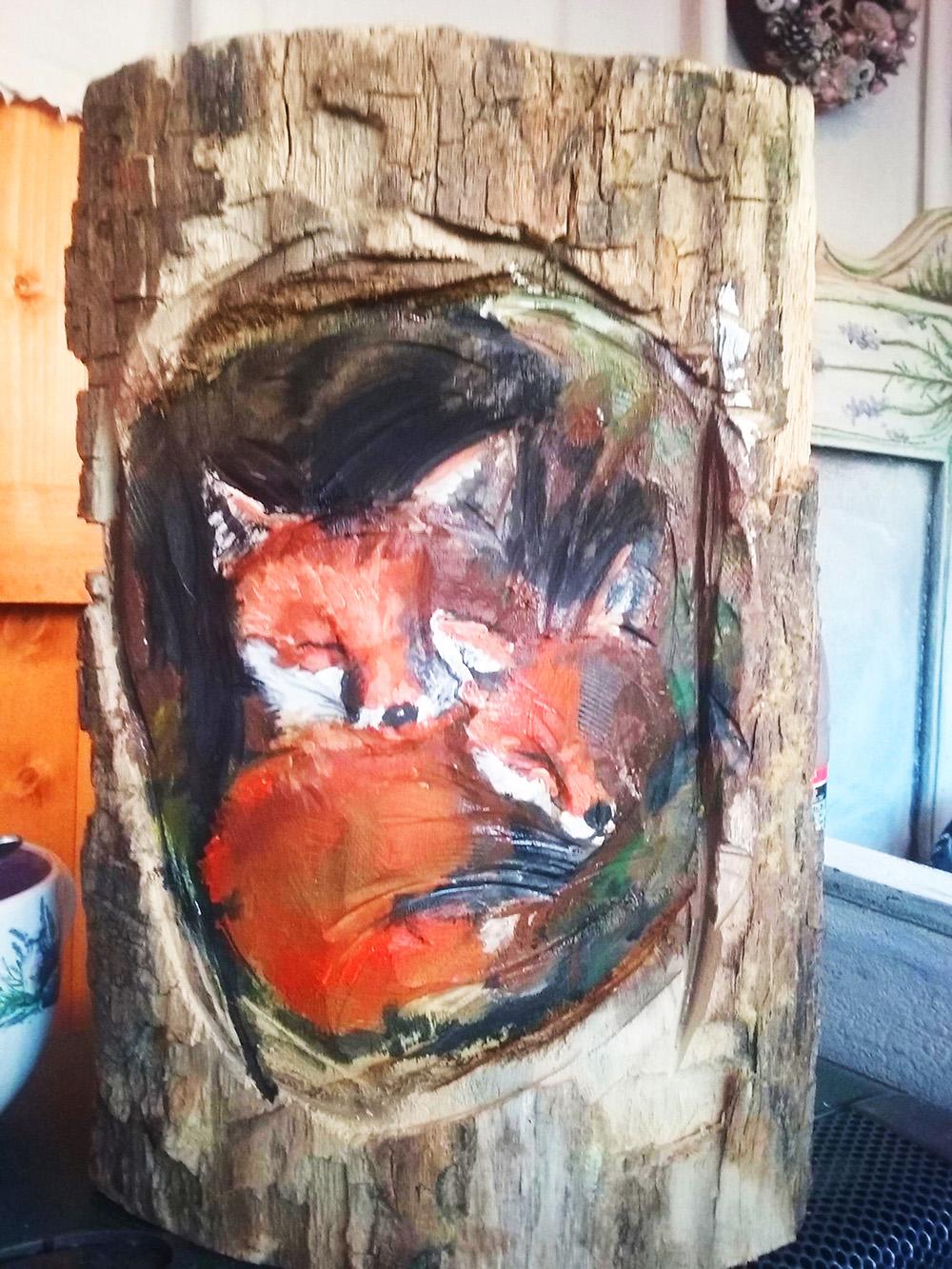 A faragott rókák - Rókavilág.hu