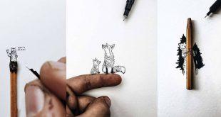 Cuki miniart állatos rajzok - Rókavilág.hu